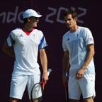 News Shopper: British fans are unlikely to see the Murray doubles act at this weekend's Davis Cup tie