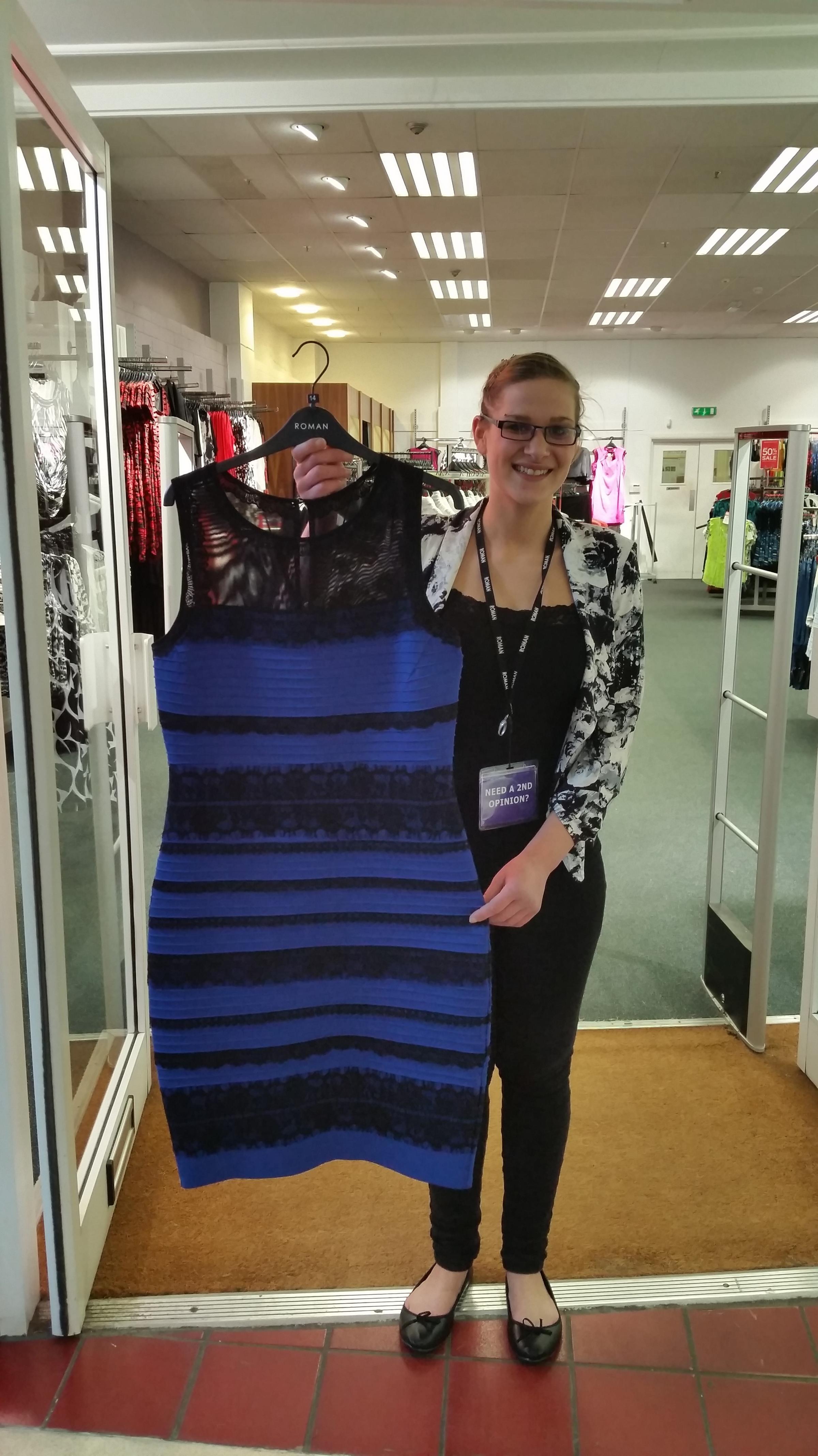 The dress broke internet - Orpington Roman Originals Shop Enjoys Stampede Of Sales After Viral Dress Photo From News Shopper