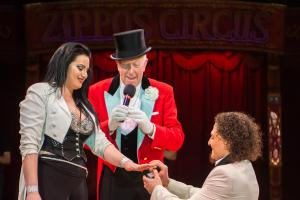 Zippo's Circus performer's shock marriage proposal in Blackheath Big Top