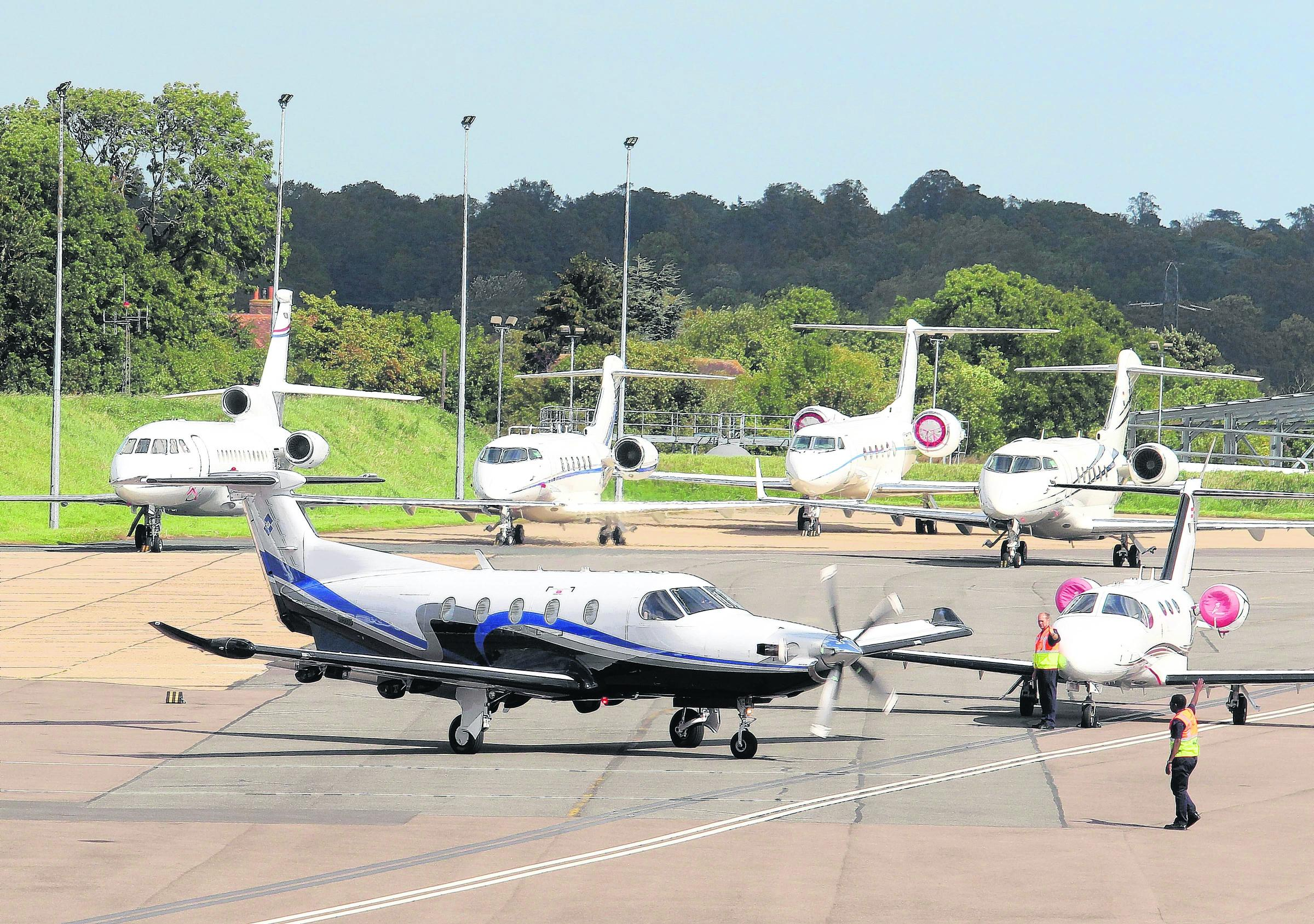 Biggin Hill Airport are preparing to introduce a new noise limit