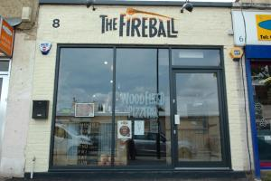 PICTURED: Inside The Fireball - Bromley Common's new pizzeria