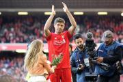 Cheerio: Steven Gerrard acknowledges the fans' farewell at Anfield after Liverpool's 3-1 defeat to Crystal Palace            All pictures: Staph Ousellam