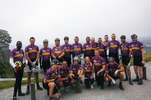 Hills, loops and hairpin bends: 4th SPM charity cycle