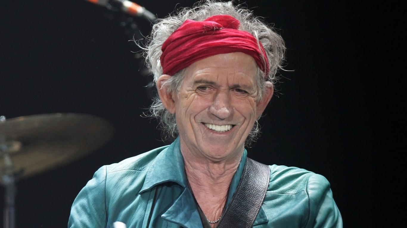 Listen to Dartford rocker Keith Richards' new single Trouble