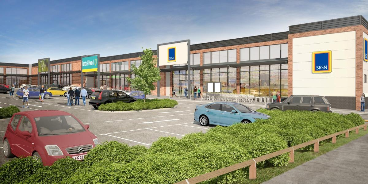 Plans Unveiled For New Multi Million Pound Retail Development In