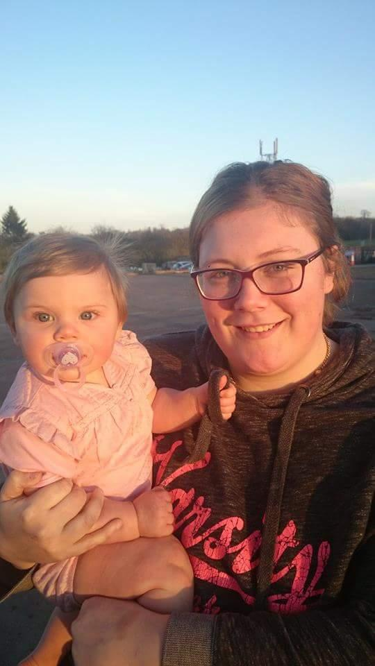 Natasha Mullan with one-year-old Annabelle