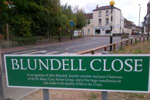 Road named in honour of community champion
