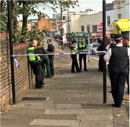 The victim was found dead under a Plumstead bridge.