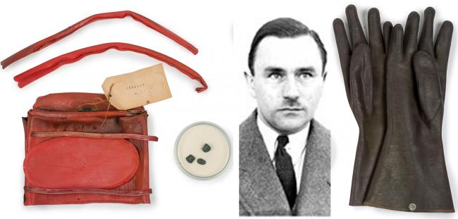 Various pieces of forensic evidence caught out the serial killer known as the Acid Bath Murderer
