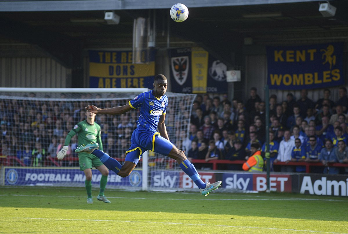 Making an impact: Semi Ajayi has impressed since his loan switch, and he wants to hang around                 SP93618