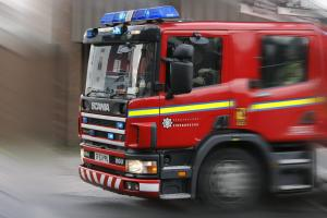 Meopham fire brought under control by firefighters