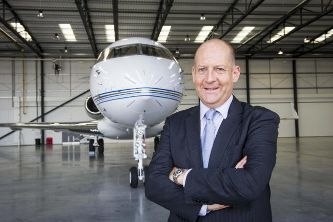 Biggin Hill Airport managing director, Will Curtis