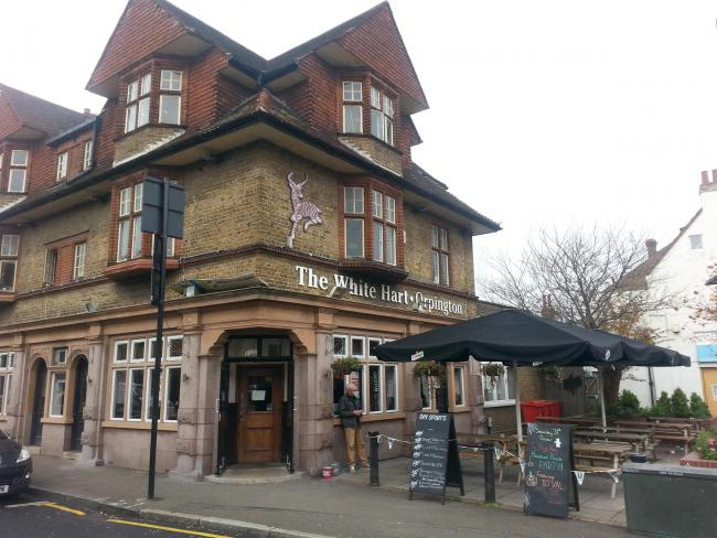PubSpy reviews the White Hart, Orpington
