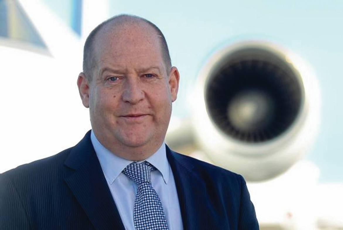 Biggin Hill Airport managing director Will Curtis
