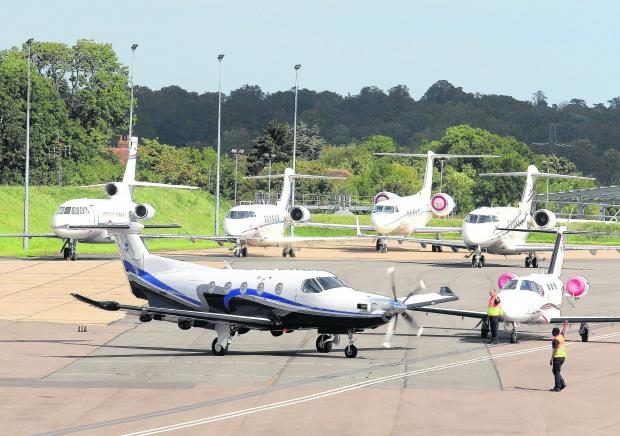 Bromley Council backed Biggin Hill Airport's bid for longer operating hours at a meeting in the Great Hall at Bromley Civic Centre on Wednesday (November 25)