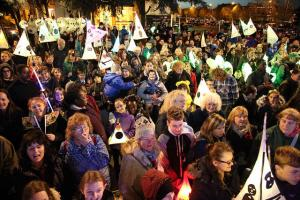 PICTURED: Christmas lights switch ons in south-east London and north Kent - Can you spot yourself?