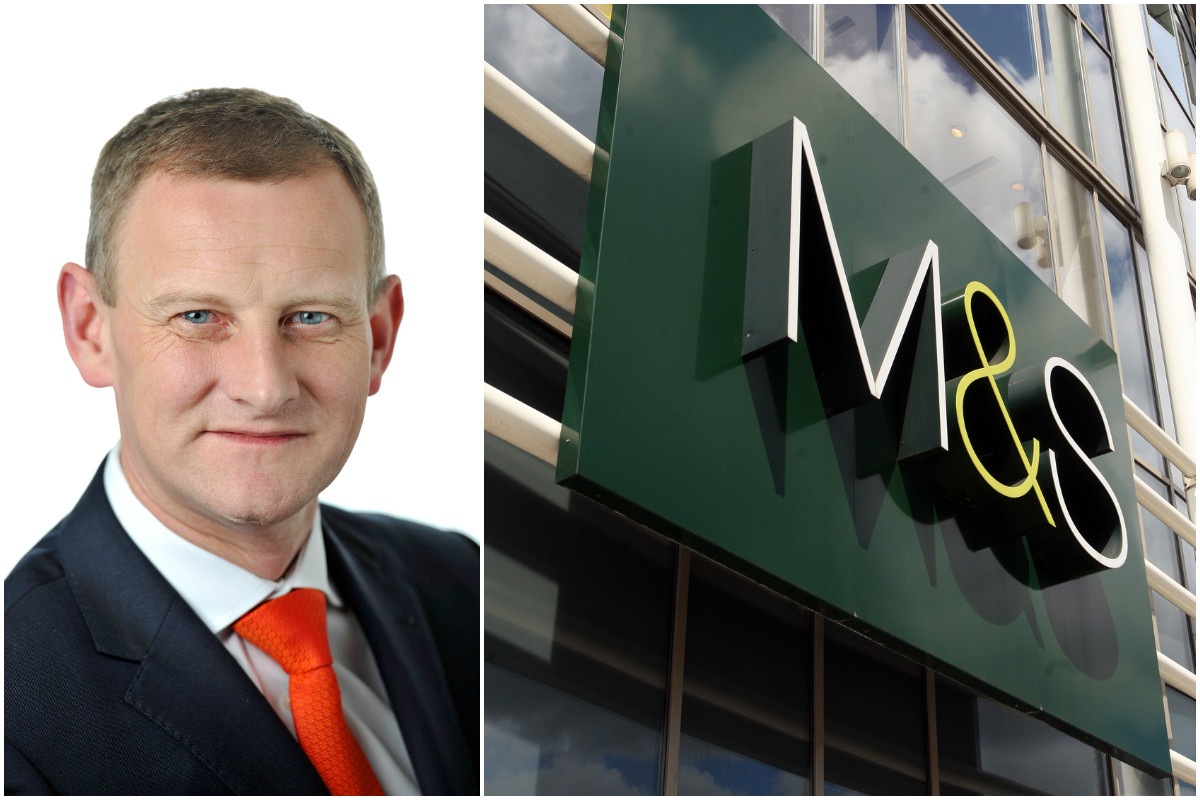 Marks and Spencer chief executive and former Croydon shopworker Steve Rowe has confirmed plans for stores closures and changes