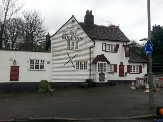 PubSpy reviews The Bull Inn, St Paul's Cray