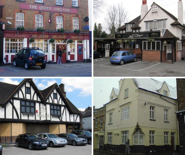 Website closedpubs.co.uk is archiving pubs that have closed down, including in the Bromley borough