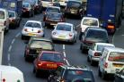 There is heavy traffic on the Sidcup By-pass London-bound this morning (February 4)