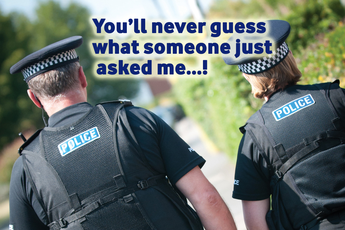 police officer questions