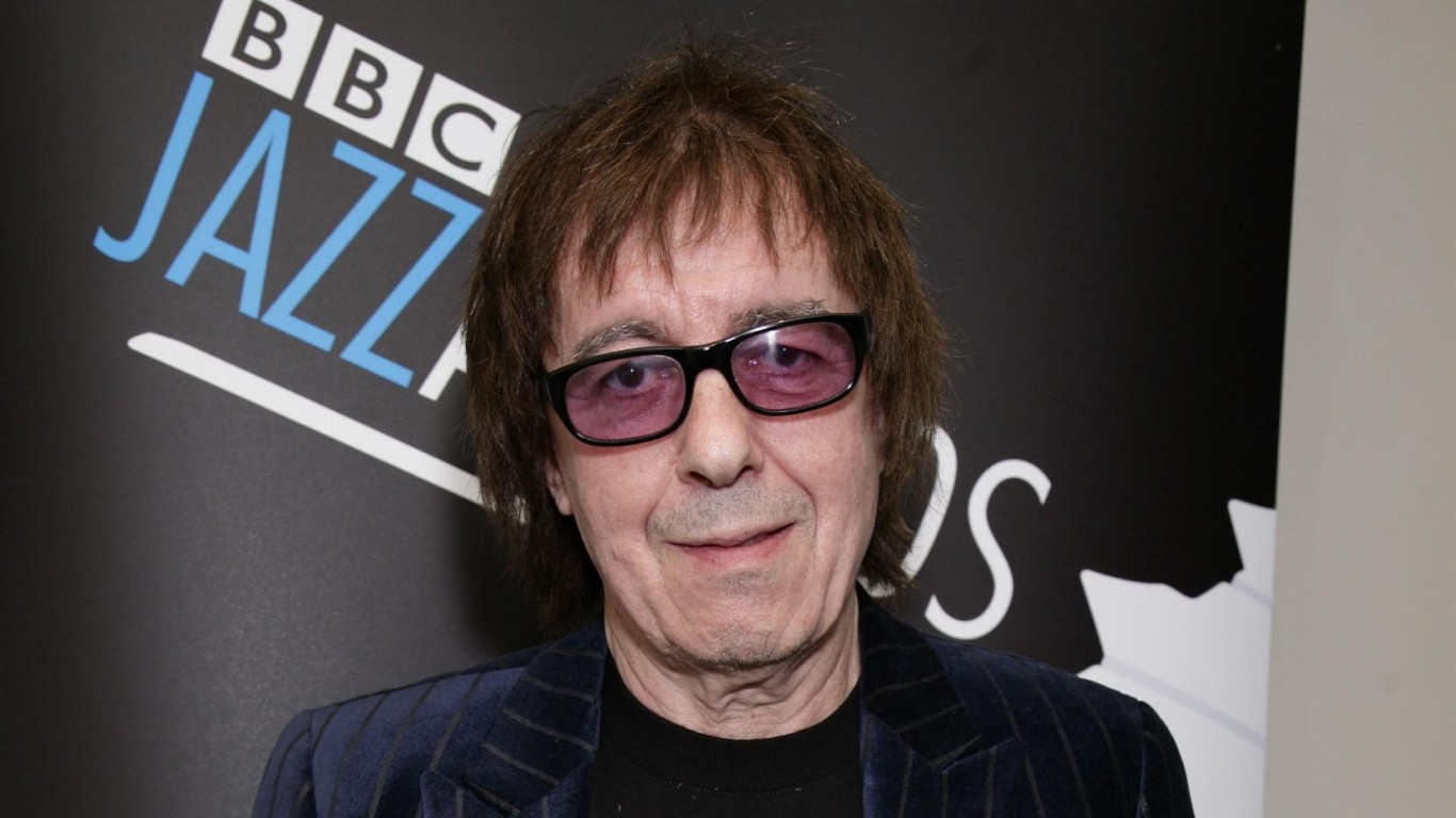 80th birthday concert for Lewisham's Rolling Stone Bill Wyman as part of BluesFest in Greenwich