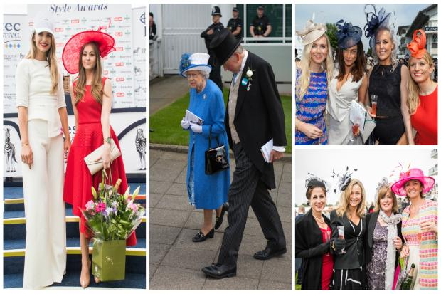 Some of the best dressed from this year's Epsom Derby