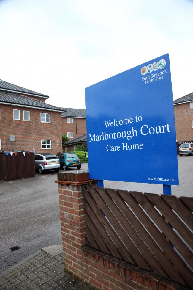 Marlborough Court care home in Thamesmead has been rated inadequate.