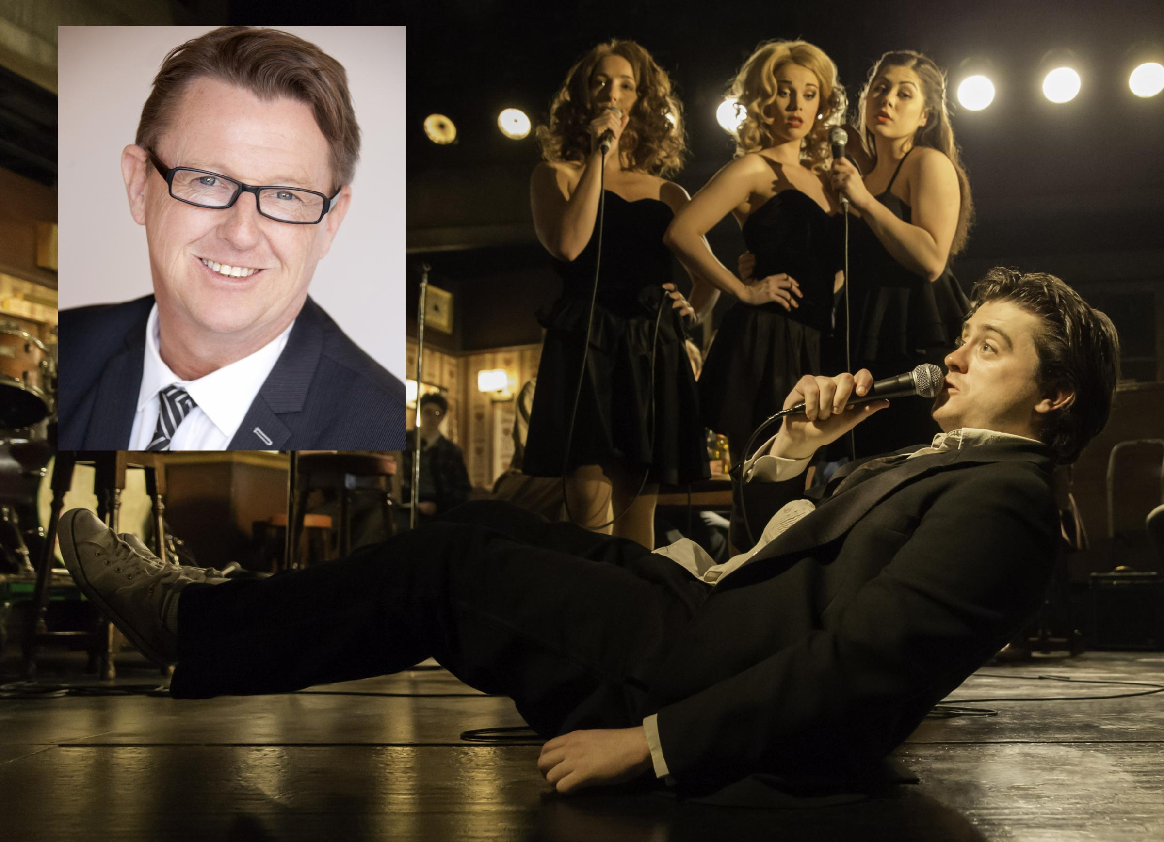 Kevin Kennedy (inset) will star in The Commitments. Main image: Johan Persson
