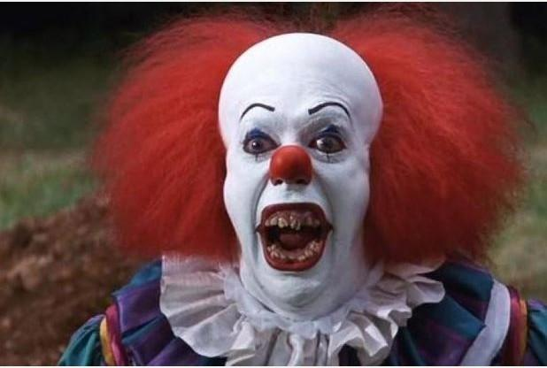News Shopper: Tim Curry as Pennywise the clown in an adaptation of Stephen King's novel It