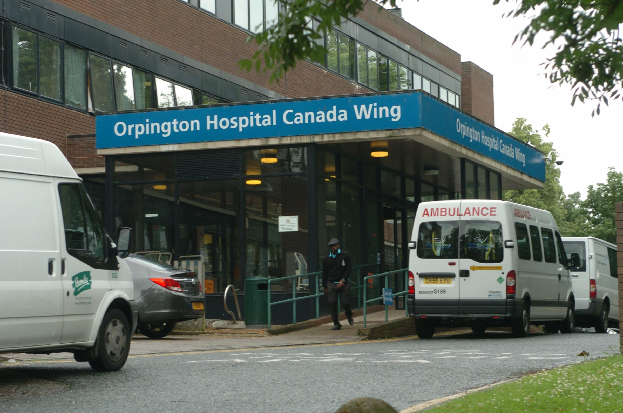 The bus will continue to run past Orpington Hospital