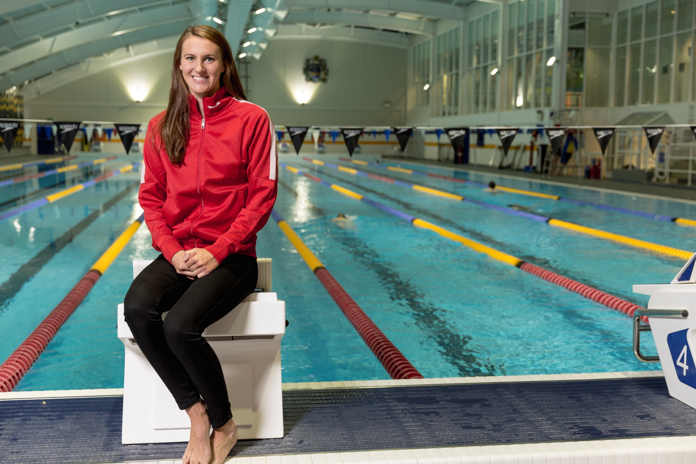 Olympic silver medallist Jazz Carlin is encouraging more people to take up swimming