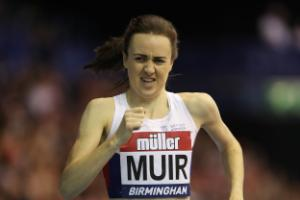 Laura Muir heads Great Britain squad for European Indoor Championships