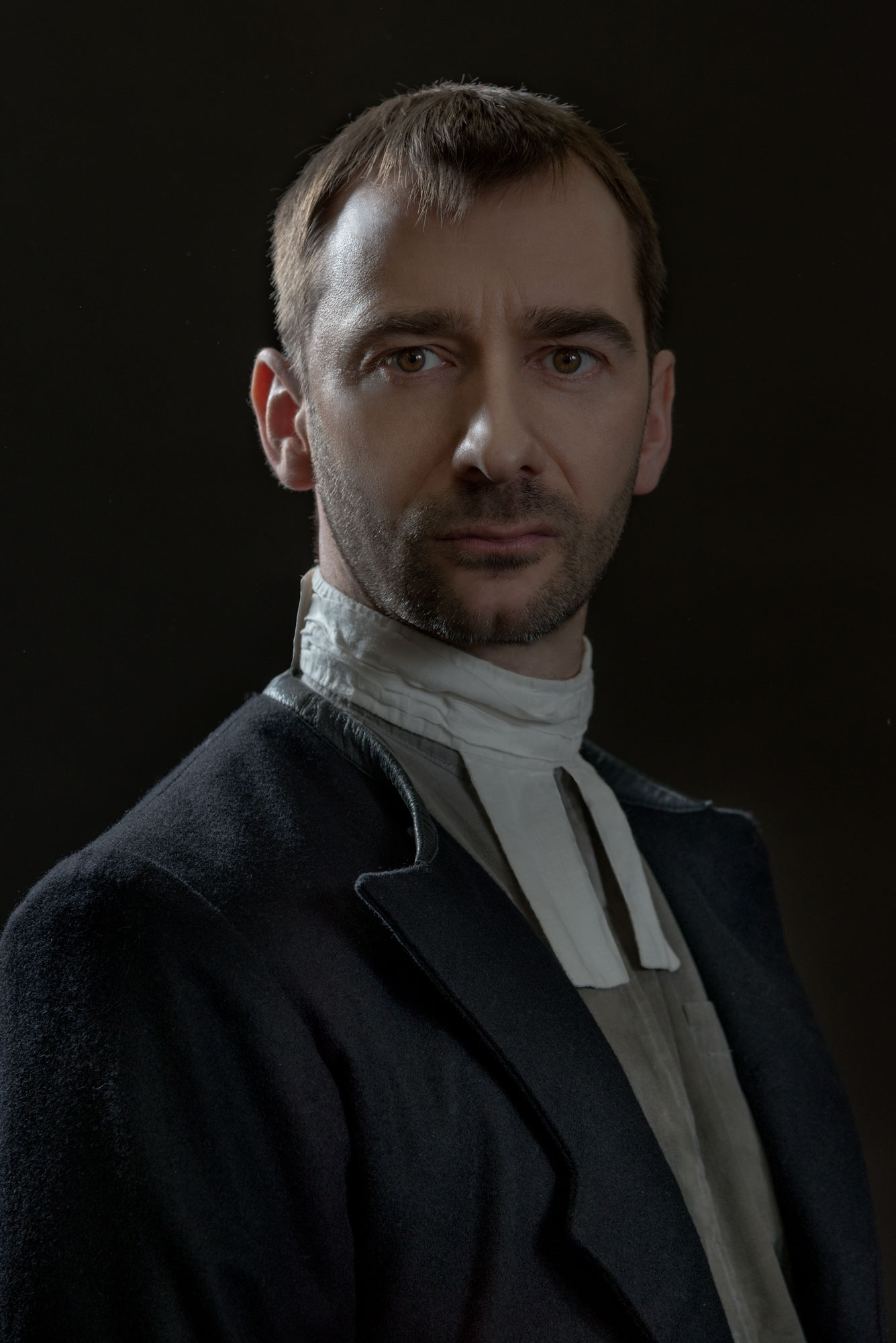 Charlie Condou stars in The Crucible