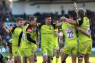 Owen Williams boots Leicester to victory in Premiership thriller at Northampton