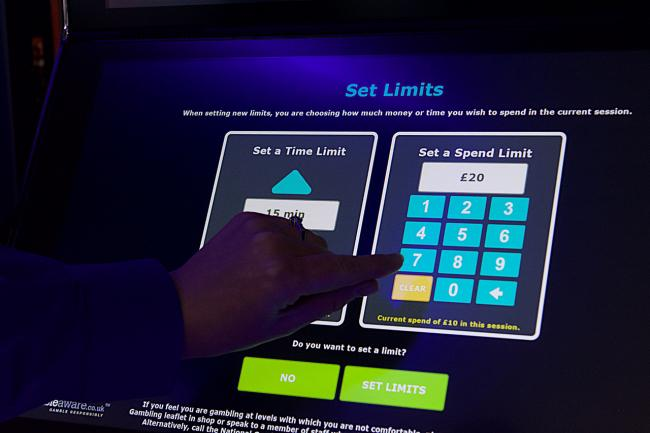 There have been calls to limit the wager limit on betting machines. Photographer Sam Pearce