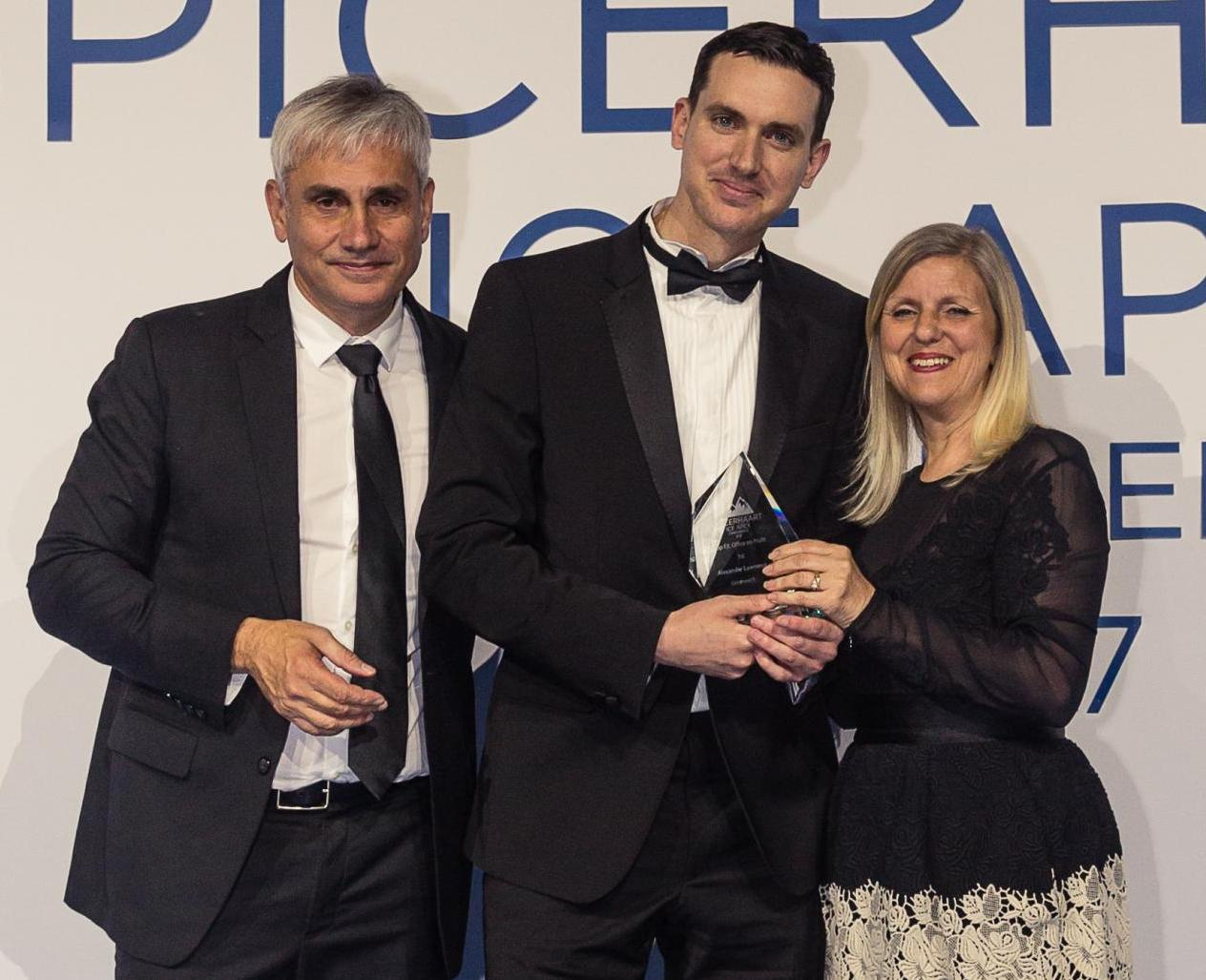 Greenwich estate agent Alexander Lawrence of Felicity J Lord wins Spicerhaart company award for branch's performance