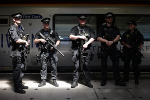 Armed police will be travelling on trains. Photo: PA Wire