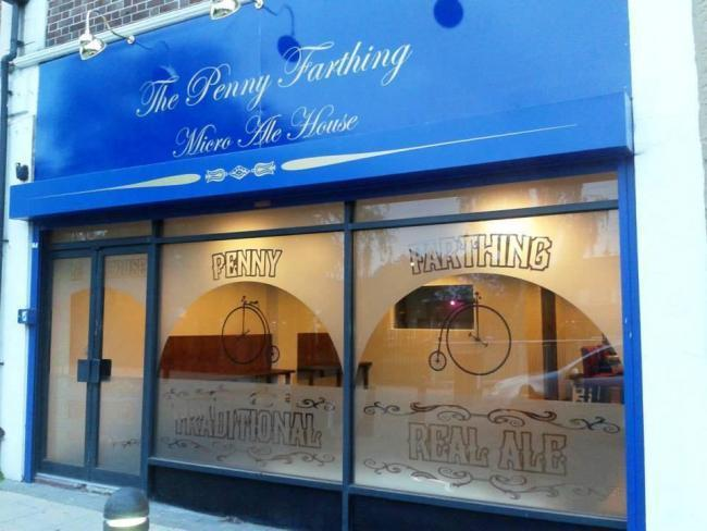 The Penny Farthing pub.