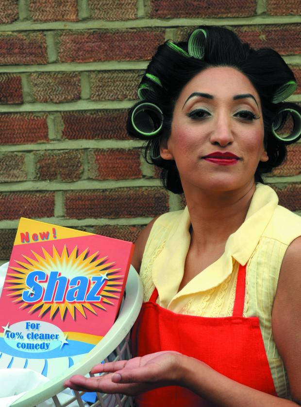 News Shopper: Shazia Mirza
