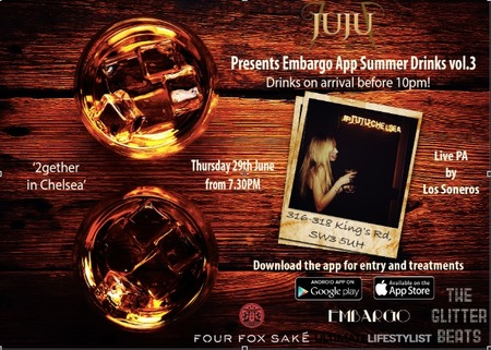 2gether in Chelsea Presents Embargo App Summer Drinks Vol 3