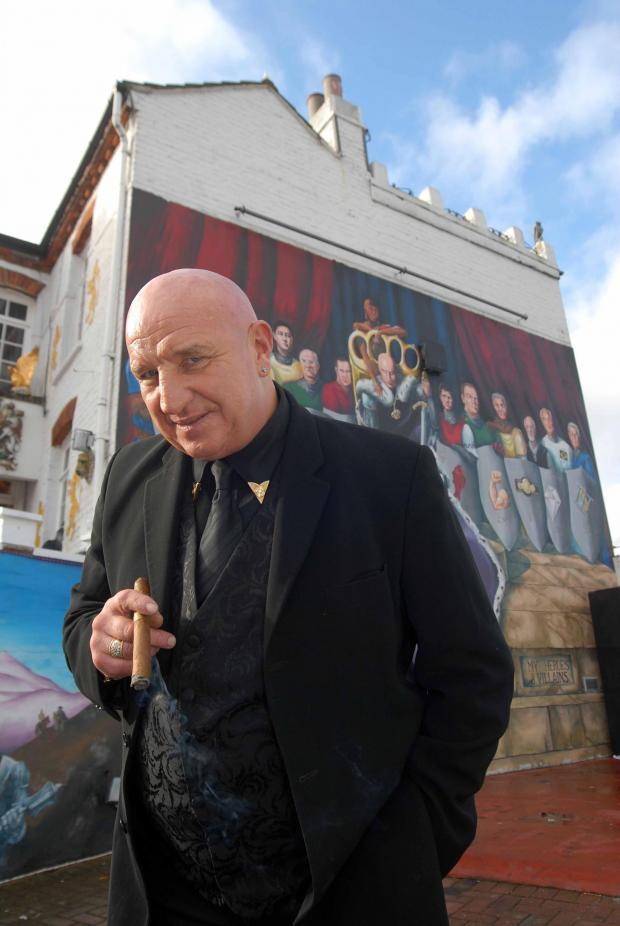 Former gangster dave courtneys fun day to be attended by grenfell plumstead resident dave courtney will open the doors to camelot castle negle Gallery
