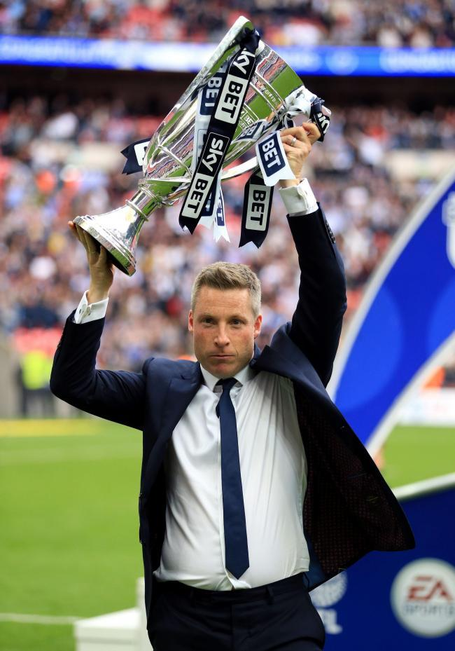 Manager Neil Harris. Picture: PA