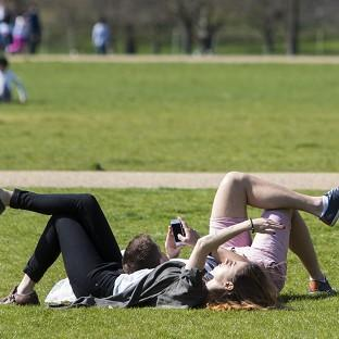 Temperatures in the capital could reach 23C on Sunday