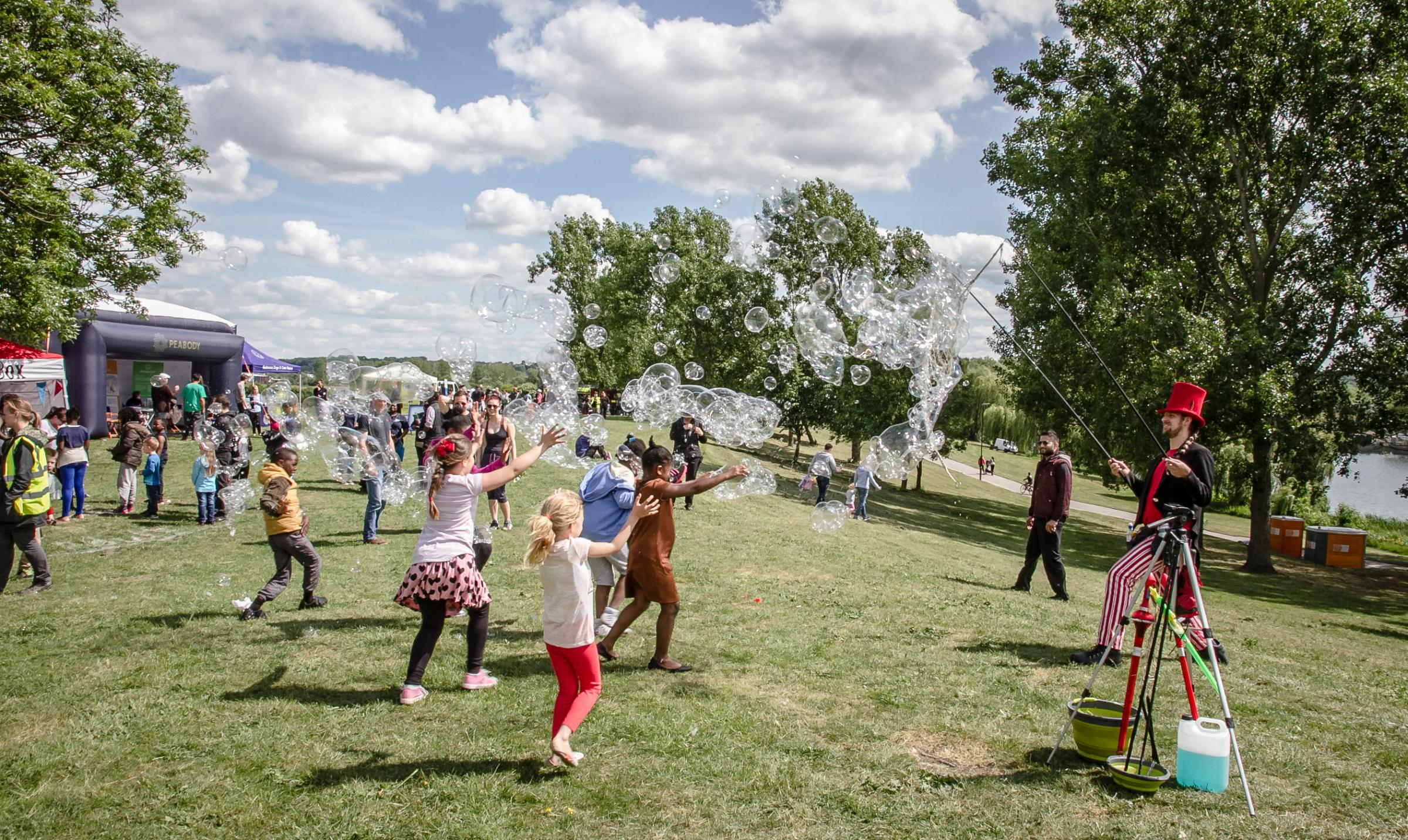 A festival with town fete and light shows is coming to Thamesmead