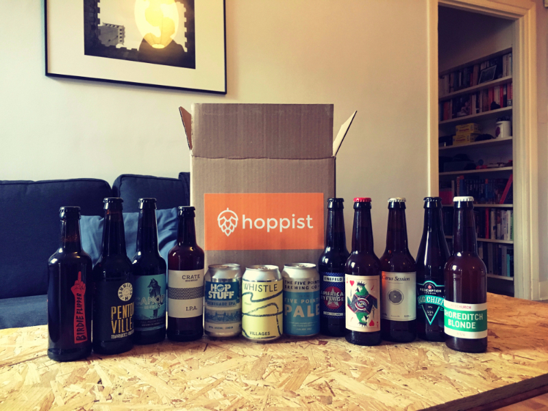 Craft beer delivery service