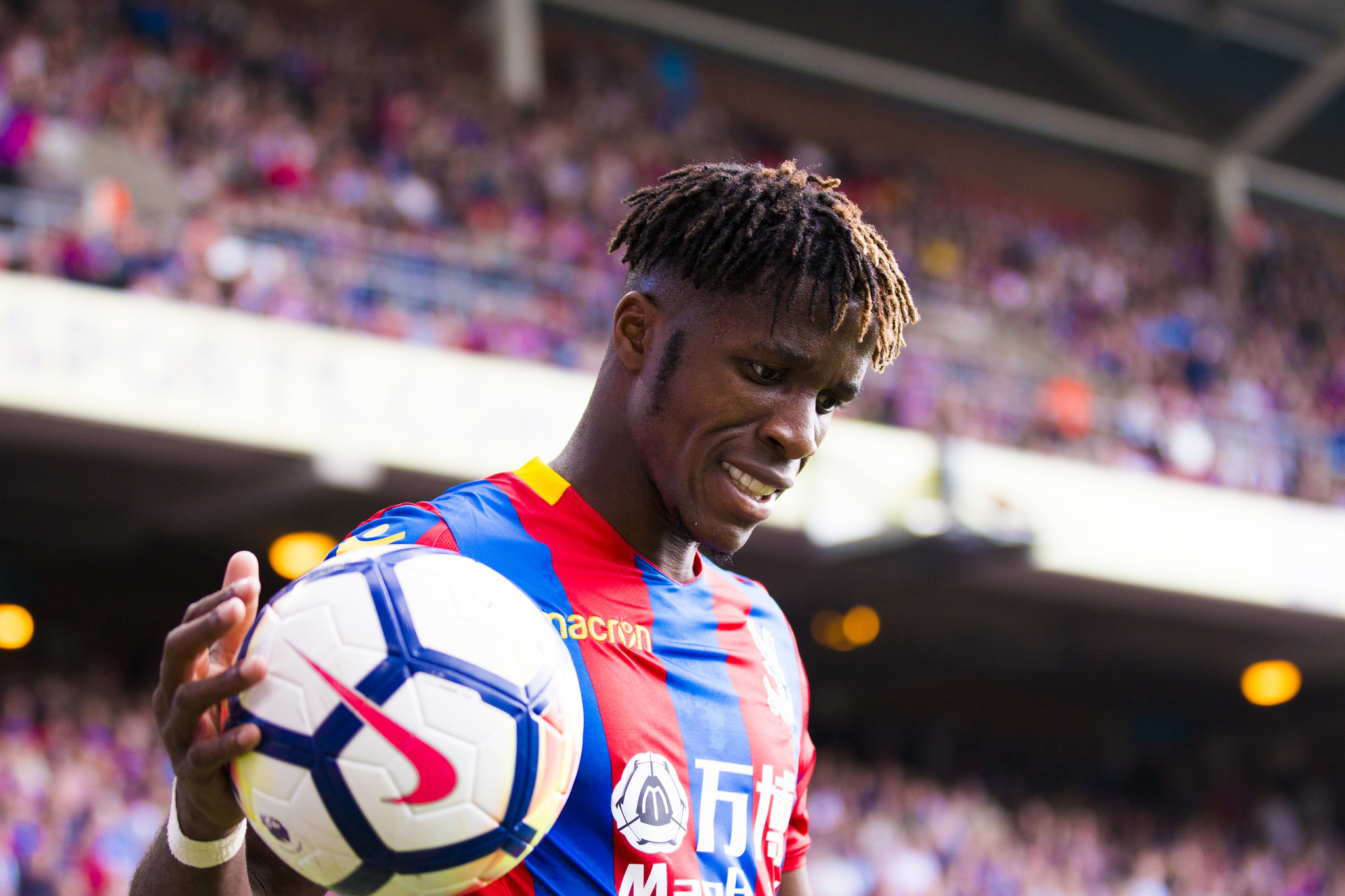 Wilfried Zaha | Picture: Benjamin Peters Photography