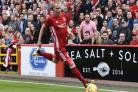 Aberdeen footballer Gary Mackay-Steven reportedly needed to be rescued from Glasgow river