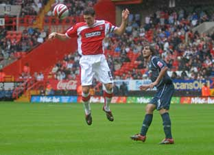 Mark Hudson had a debut to remember
