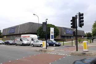 The former Courts site in Bromley Road, Catford